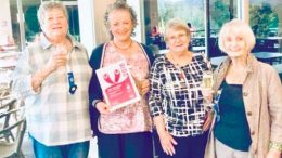 Woy Woy CWA Branch members received a certificate of acknowledgement at the awards ceremony