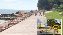 Stage One of the Avoca Beach foreshore works are complete