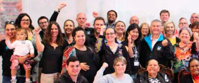 Participants in the Barang Regional Alliance two-day cultural immersion workshop. Image supplied