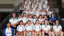 Central Coast Academy of Sport recently inducted the summer intake of athletes