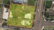 Aerial view of the Dunleigh St Toukley site. Image: Google Maps edited