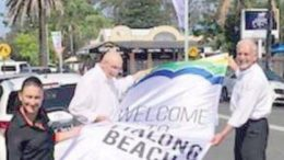 Peninsula Tourism Partners have designed street flags for Ettalong Beach
