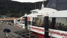 The Fantasea Ferry service to Palm Beach. Image:CNP