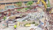 The stalled demolition on the old Froggy's site in Gosford is set to recommence.