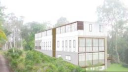 Artists impression of the proposed Glen Road facility at Ourimbah.