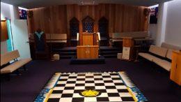 Inside Gosford Masonic Centre. Image: Ian Todd