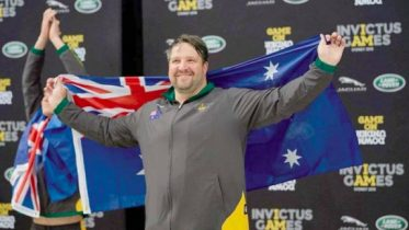 Terrigal's Luke Hill medalled at the Invictus Games