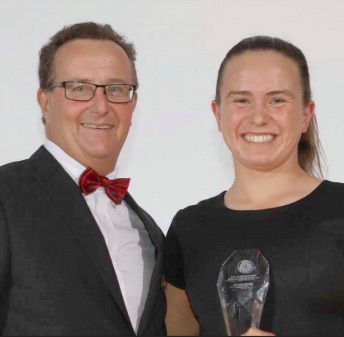Umina's Jemma Smith has been awarded the SLSA Youth Athlete of the Year Award for the third time in 2018
