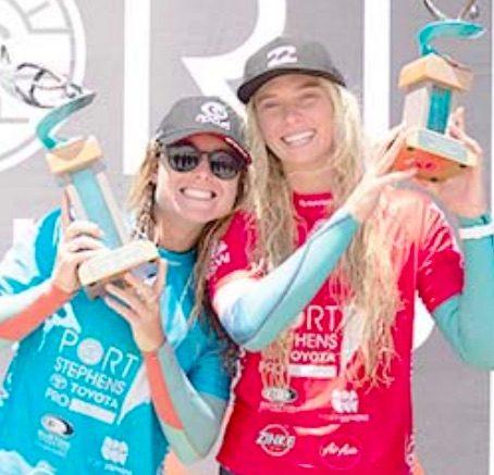 Nikki Van Dijk and Macy Callaghan