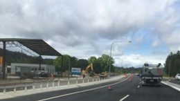 Road work at Ourimbah. Image: CNP