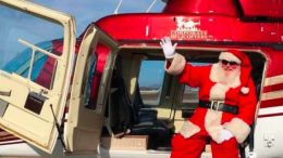 Santa will be fl ying in to a special Christmas fundraiser at the Doyalson Wyee RSL Club