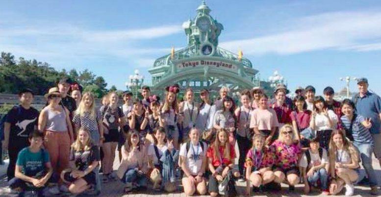 MacKillop students at Tokyo Disneyland