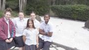 St Brigid's Visual Arts students at the gardens