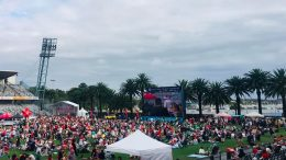 Gosford Stadium hosted Central Coast Carols. Image: Central Coast Stadium 2018