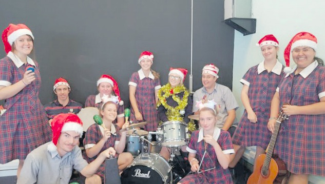 MacKillop Catholic College Warnervale students are putting on a Christmas performance as part of Council's Luminous Christmas event