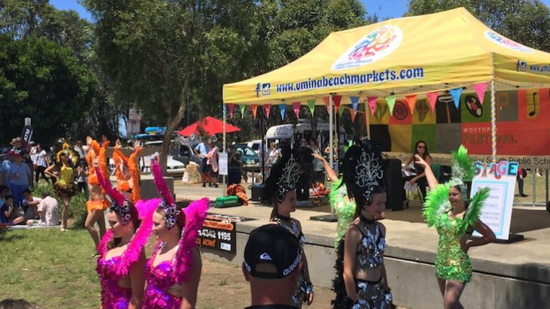 The postponed Woytopia festival at Umina Markets has been declared a success.