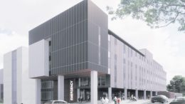 Concept art of the Wyong Hospital redevelopment