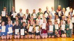 Students from across the Wyong have been acknowledged at the 2018 Rotary Citizenship Awards