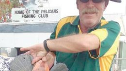 Woy Woy Bowling Club's Pelicans Fishing Club member.