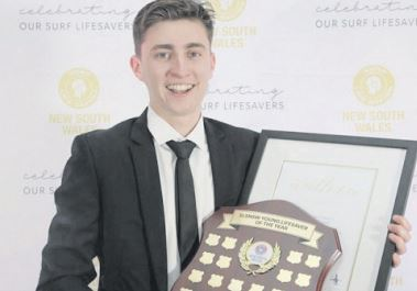 Mr Matthew Calbert has been named the Central Coast Young Volunteer of the Year