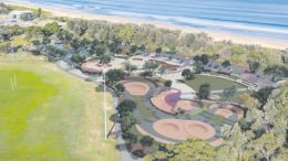 Artist impression of the proposed Umina Skate Park
