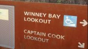 Winney Bay sign