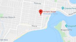 Ettalong map, Google