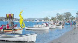 Wooden putt putt boats