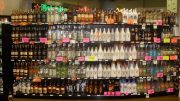 bottle shop display