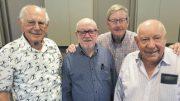 Eric Tweedale, Jimmy Phipps, Ken Dixon and Ken Archer