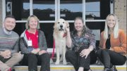 Jane McLarty and College Counsellor, Tiffany Boddey & Bentley.