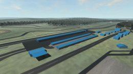 A concept plan of CASAR Park