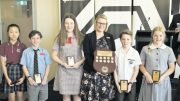 Maths winners