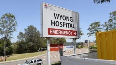 Wyong Hospital Sign