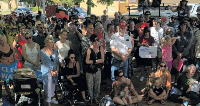 Wyong Coal protest
