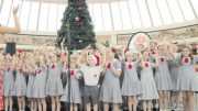 Green Point Christian College's Primary Choir delighted audiences at Erina Fair