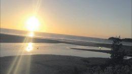 Terrigal Lagoon at dawn