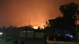 Charmhaven bushfire
