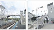 Artists' impressions of station upgrades at Narara, Niagara Park and Lisarow